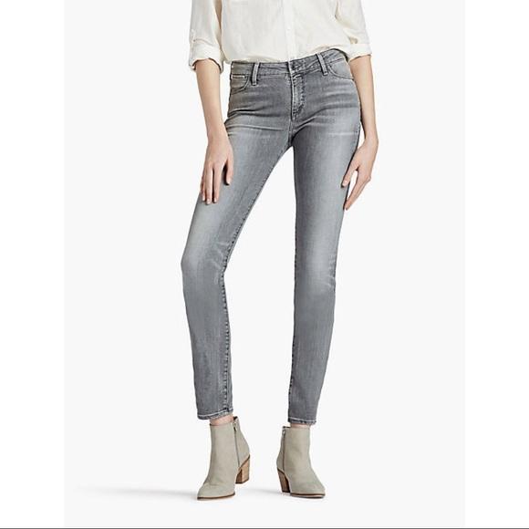 Lucky Brand Denim - Lucky Brand Charlie Skinny Gray Denim Jeans